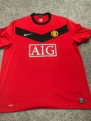 31f72ebe1 2009 10 Manchester United Home Shirt Official Nike BRAND NEW NEVER WORN  SIZE XL