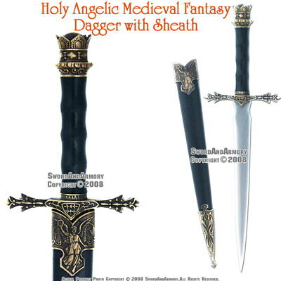 Medieval Knight Short Sword Historical King Dagger Renaissance Costume