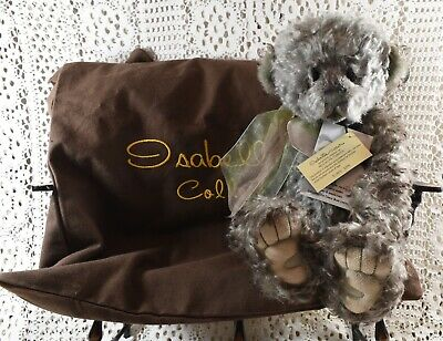 Retired Rare Isabelle Lee 100% Mohair Ltd Edition 242 / 400 Earl Bear 13""