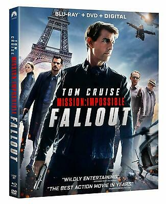 Mission: Impossible Fallout (Blu Ray + DVD 2018)