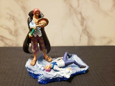 ONE PIECE LOG Box Marineford Arc Coby & Shanks Figure