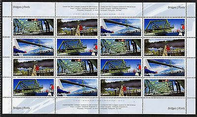 Canada 2103a Sheet MNH Canadian Bridges