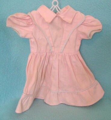 Vintage Doll Dress in Pink for Tall Doll