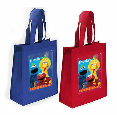 SESAME STREET FAVOR Bags Loot or Treat Bags, Birthday Party