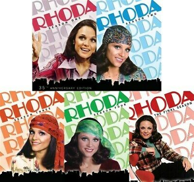 RHODA THE COMPLETE TV SERIES New DVD Seasons 1 2 3 4 5 Mary Tyler Moore Spinoff