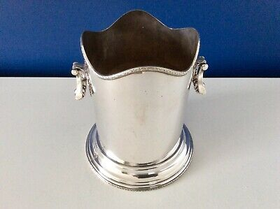 Rare Art Deco Silver Plated Champagne Bottle Holder FINNIGANS Manchester c1928