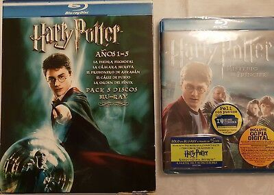 Harry potter pack 6 blue ray