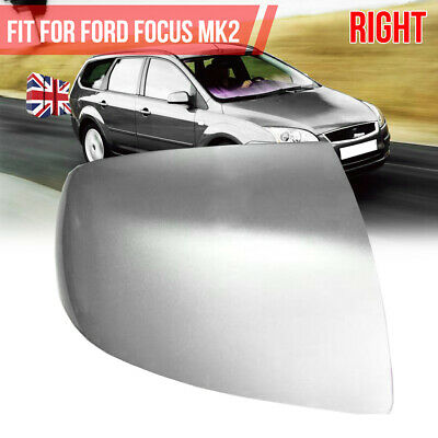 Passenger LHS Wing Door Mirror Cover Casing Black For Ford Focus mk1 1998-2004
