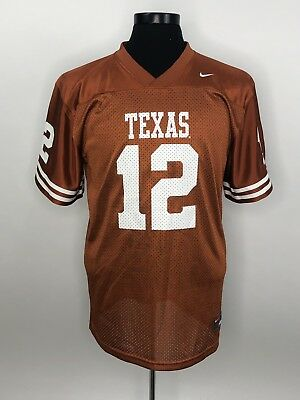 best sneakers 4f97a 49d9f YOUTH TEXAS LONGHORNS #3 XL (20) Nike Football Jersey (Burnt ...
