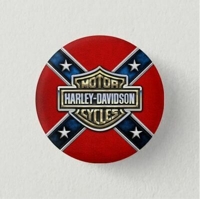 Chapa Pin Badge Button Brooch HARLEY DAVIDSON