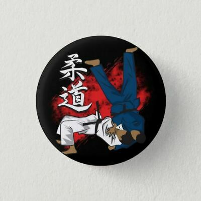 Chapa Pin Badge Button Brooch JUDO MARTIAL ARTS