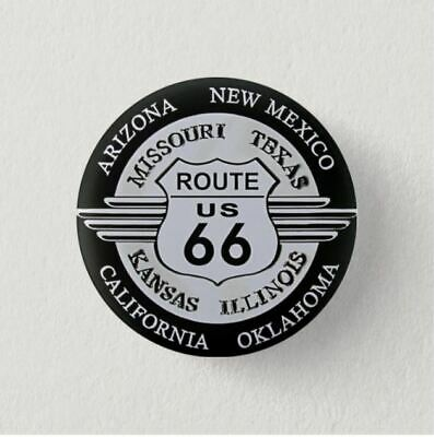 Chapa Pin Badge Button Brooch ROUTE 66