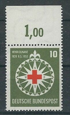Bund Mi. Nr. 164 Clean Mint by the Upper Edge