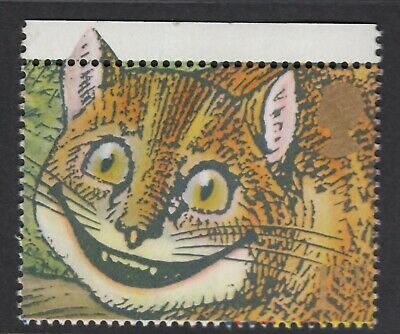 Alice In Wonderland - The Cheshire Cat Illustrated On 1991  Unmounted Mint Stamp