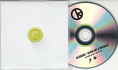 KLAXONS - TWIN Flames - Promotional CD Single - 2 Track Promo - EUR