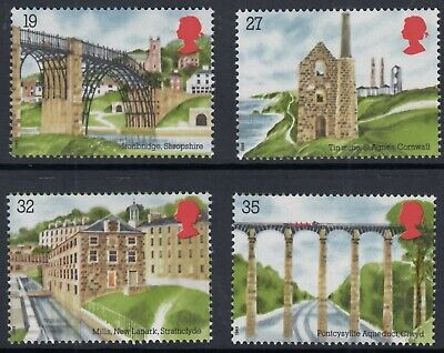 Gb 1989 Industrial Archaeology  Horizontal Format  Set From Mini Sheet  Mnh