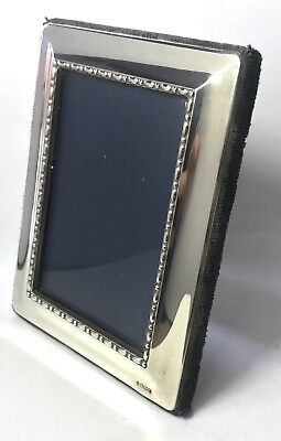 Solid Silver Carr's Of Sheffield Ltd Square Picture Photo Frame 130.8g 1993