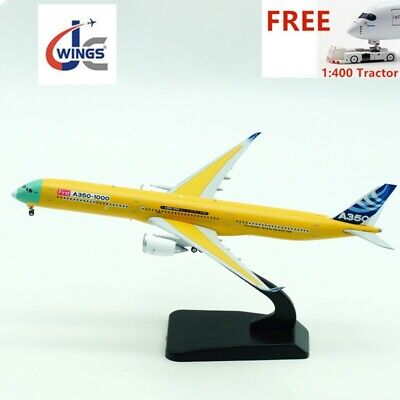 (Rare)1:400 JC Wings XX4110 Airbus A350-1000 F-WMIL+Free Tractor+Stand