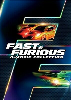 FAST & FURIOUS 6-MOVIE COLLECTION New Sealed 6 DVD Set