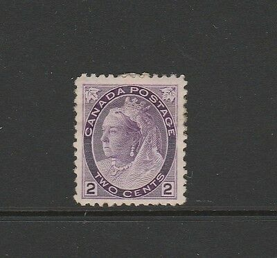 Canada 1897/8 clover in all coners 2c MM SG 144