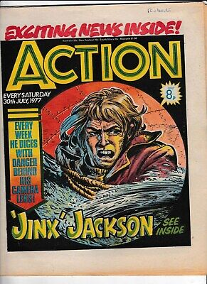 Action Comic 30 July 1977 In Good Condition