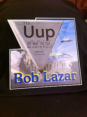 Bob Lazar Standee UFO  Area 51 Element 115 fuel cell Aliens moon
