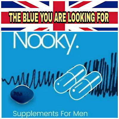 40X Blue Sex Tablets Capsules For Men Get HARD MONEY BACK GUARANTEE 100%mg