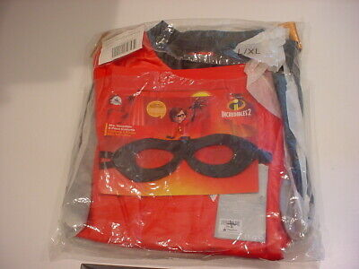 Incredible Incredibles 2 Costume 6 Piece L XL Authentic Disney $80 Mrs