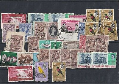 A Large Lot Of British Commonwealth  Stamps In Fine Used See The 3 Scans 297#
