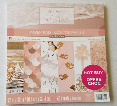 """Kawaii Dream 12/"""" x 12/"""" Paper Pad by Recollections,Dog,Unicorns,Food,Scrapbooking"""