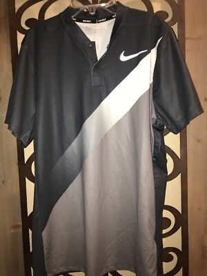 e2795406 New Nike Mens Dry NK Momentum Slim Dri Fit Golf Shirt 918678 Medium Blade  Collar. $33.99 Buy It Now 8d 21h. See Details. NWT Nike Momentum Fly Dri-FIT  Men's ...