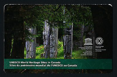 Canada 2744a Booklet MNH UNESCO World Heritage Sites, Rideau Canal