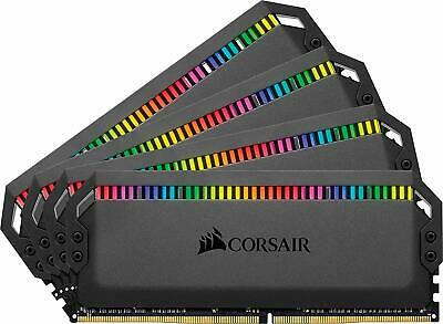 Corsair Dominator Platinum RGB 64GB (4x16GB) DDR4 3600MHz C18 Enthusiast RGB LED
