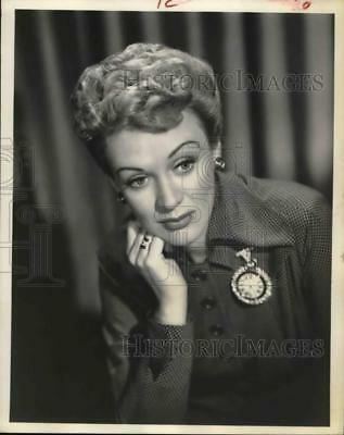1951 Press Photo Actress Eve Arden - hcp21052