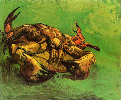 Art Oil painting Vincent Van Gogh - Crab on Its Back canvas