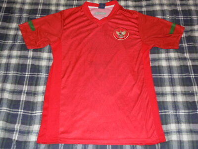 ee97819d9bc INDONESIA - World Cup Soccer Throwback Jersey - SEWN LOGO - Mens Small S