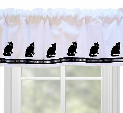 Exotic Shorthair Cat Window Valance Curtain .. Choice of Colors*