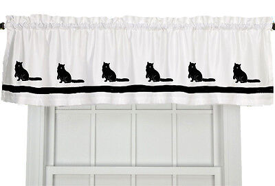 Ragdoll Cat  Window Valance Curtain in Your Choice of Colors