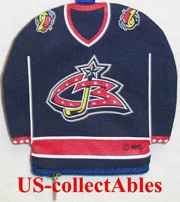NHL Columbus Blue Jackets Jersey I.D.Holder Money Pouch Sports Collectibles Gift