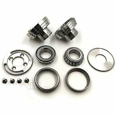 Motorcycle Chrome Fork Internal Stop Neck Cup Kit For Harley Dyna Wide Glide FXD