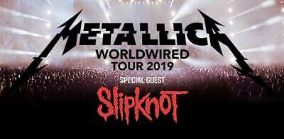 Metallica Concert Tickets Front Row!! Buy Now Get In Quick!