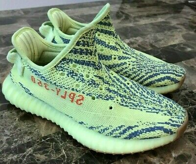 02acadc34 ATHENTICATED ADIDAS YEEZY Boost 350 V2 Semi Frozen Yellow