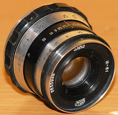 INDUSTAR-61  Lens for  FED Zorki, LEICA    FED   Very good