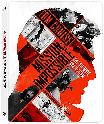 Mission: Impossible – The 5 Movie Collection Limited Edition Steelbook (Blu-ray)