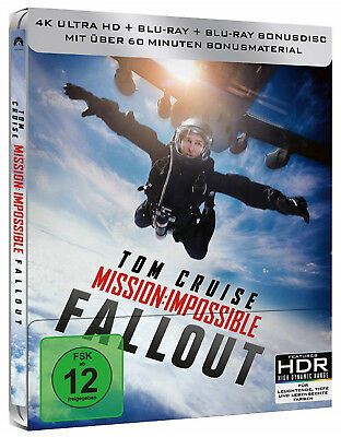 Mission Impossible - Fallout 4K - Limited Steelbook Edition (4K UHD+Blu-ray)