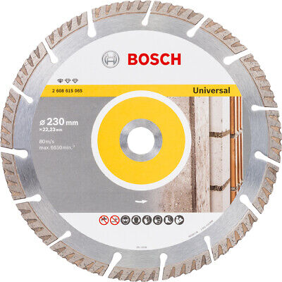 Disco Diamante General Obra Bosch 230X2,3X10