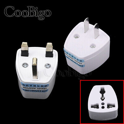 Portable to UK US AU EU Europe Travel Power Sockets Plug Adapter Outlet Converte