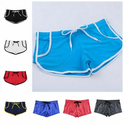 Men Beach Swim Shorts Swimwear Swimming Trunks Underwear Surf Boxer Briefs Pants