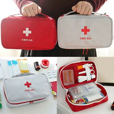 First Aid Kit Bag Emergency Survival Medical Treatment Medical Rescue Empty Box