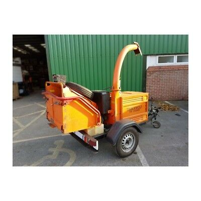 "Timberwolf TW150DHB Chipper 6"" Feed (Towable)"